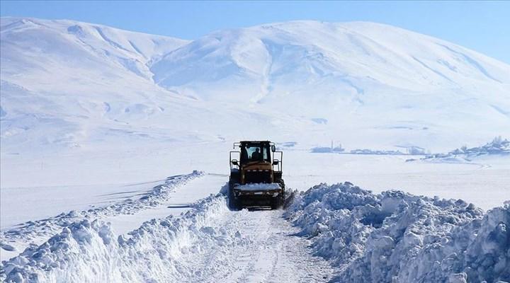 Doğu Anadolu'nun en soğuk şehri eksi 22 dereceyle Ağrı