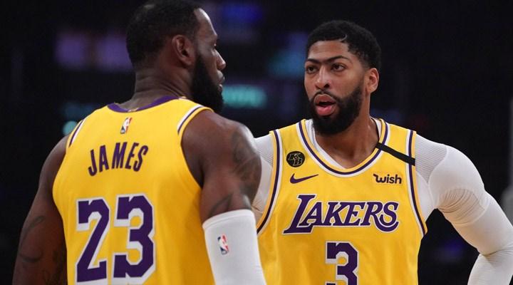 Lakers'ın deplasmanda üst üste kazanma serisi sona erdi