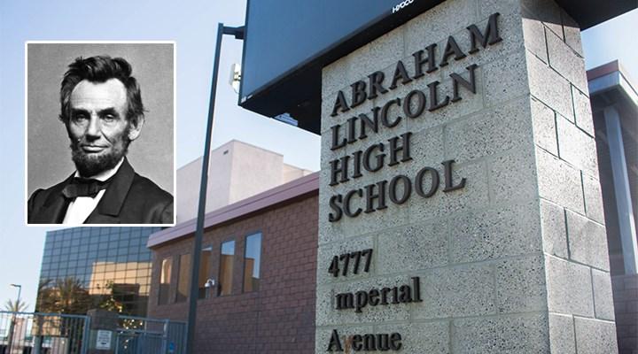 San Fransisco'da George Washington ve Abraham Lincoln gibi kölecilikle bağlantılı isimler 44 okuldan siliniyor