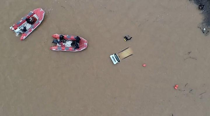 Çanakkale'de baraj suyunda kaybolan otomobil bulundu, sürücü kayıp