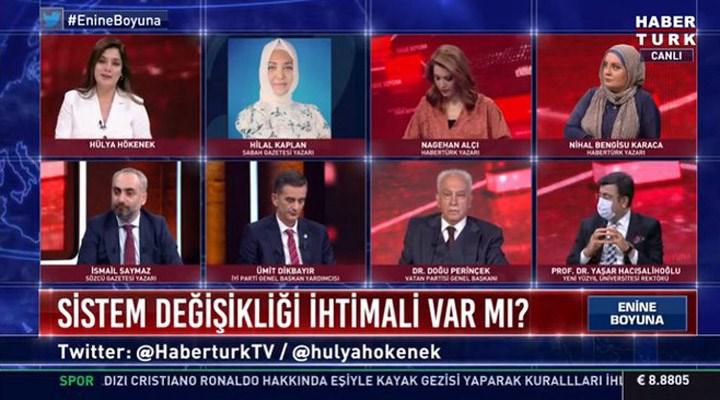 İsmail Saymaz'dan Hilal Kaplan'a: Fethullah Gülen için şiir yazdı, geçmişini sileceğini zannediyor