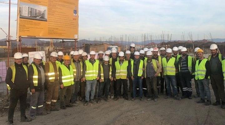 63 işçi Sırbistan'da mahsur kaldı