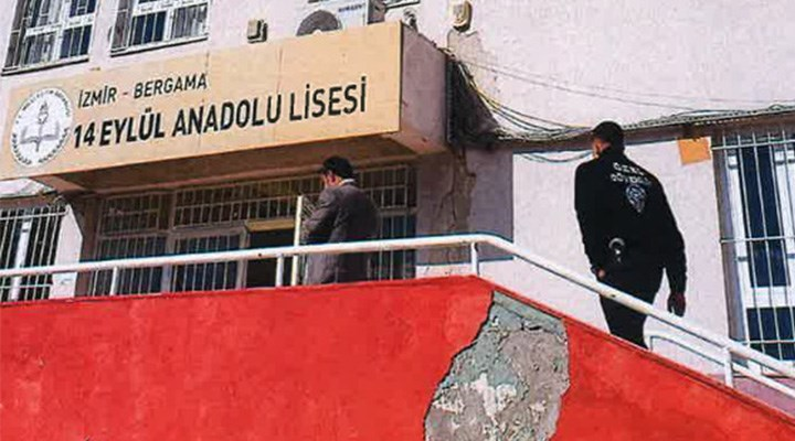 Depremde hasar gören lise eğitime açılıyor