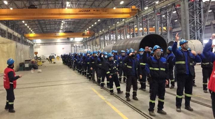 MESS dayatmalarına karşı fabrikalar ayakta