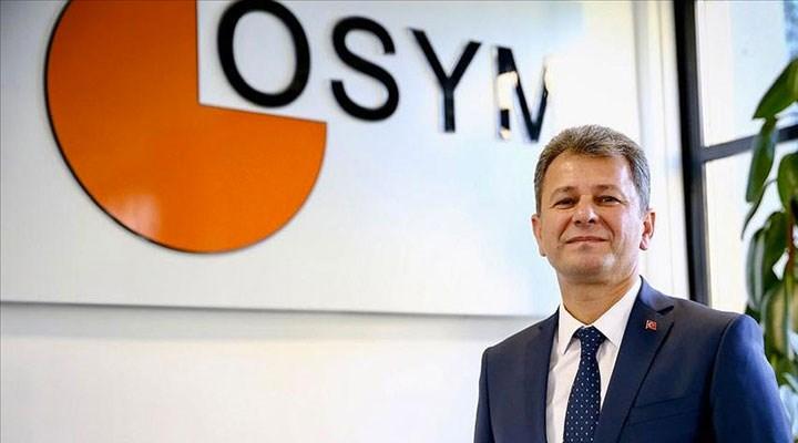 ÖSYM Başkanı Aygün'den 'YKS başvuruları'yla ilgili açıklama