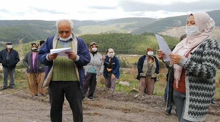 Milaslı köylüler: Kendimizden, köyümüzden vazgeçmeyeceğiz