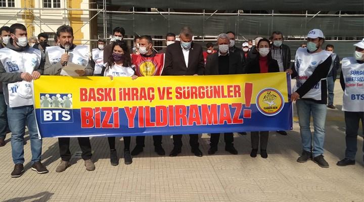 Ankara'ya yürüyen emekçiler engel tanımıyor