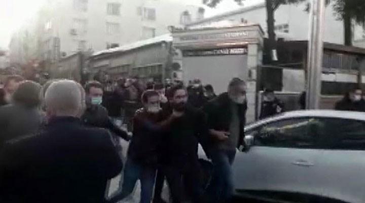Samsun'da Boğaziçi'ne destek eylemine polis müdahalesi: 19 gözaltı