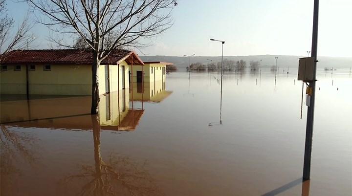 Ergene Nehri'nin alarm seviyesi düşürüldü