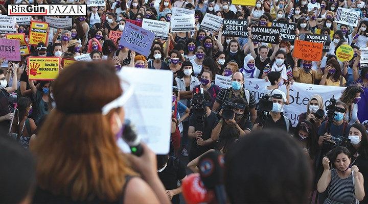 'Kadın hakları, madın hakları'