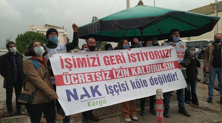NAK Kargo işçileri direnişi sonlandırdı: İşçilere çift vardiyaya geçiş sözü verildi