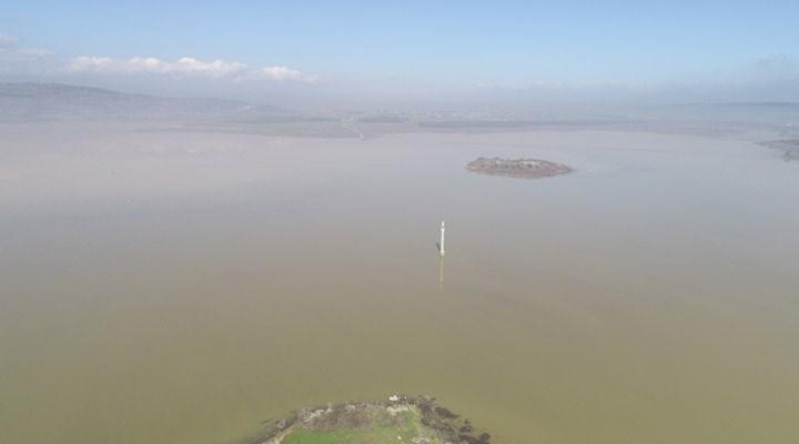 Rekor yağışların ardından Tahtalı Barajı'nda seviye yükseldi