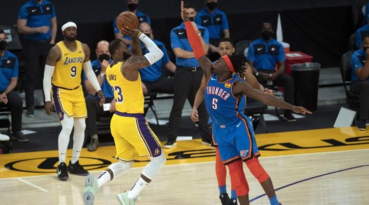 NBA'de Lakers galibiyet serisini 5 maça çıkardı