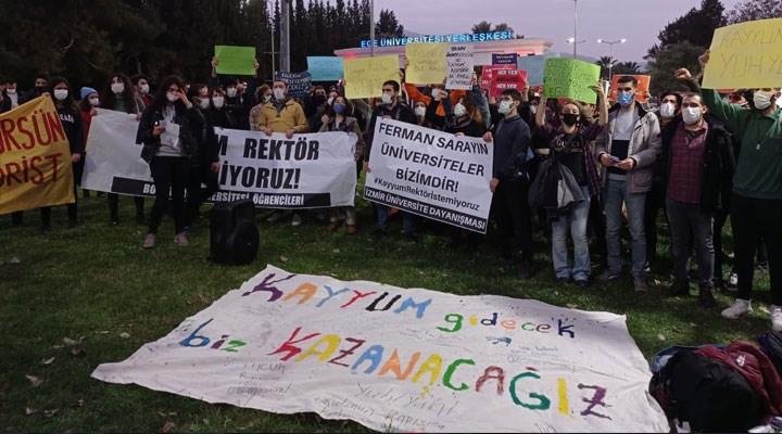 Boğaziçi direnişine destek olan Dokuz Eylül öğrencilerine soruşturma