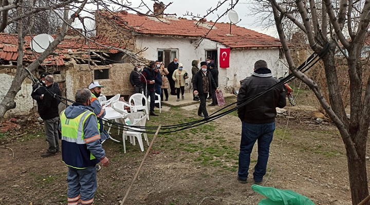 13 eve ateş düştü