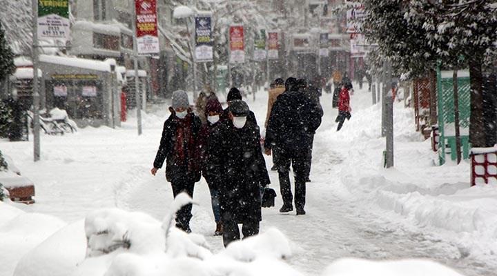 3 adımda karda yürümek