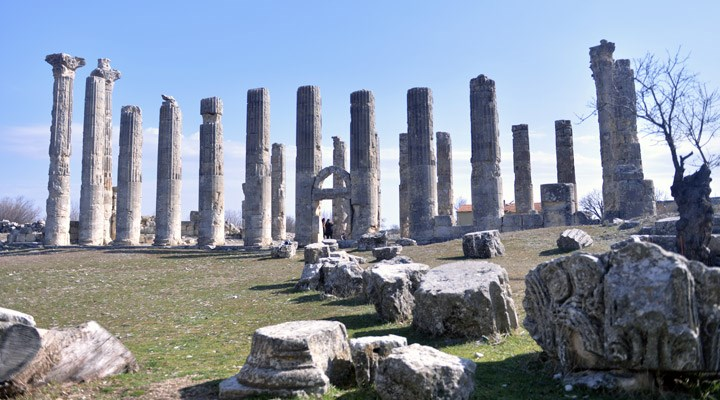 2 bin 300 yıllık Uzuncaburç Antik Kenti restore edilecek