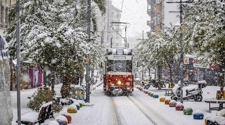 Fotoğraflarla İstanbul'da kar yağışı