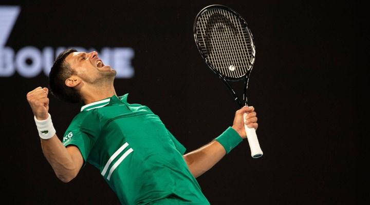 Avustralya Açık: Tek erkeklerde ilk finalist Novak Djokovic