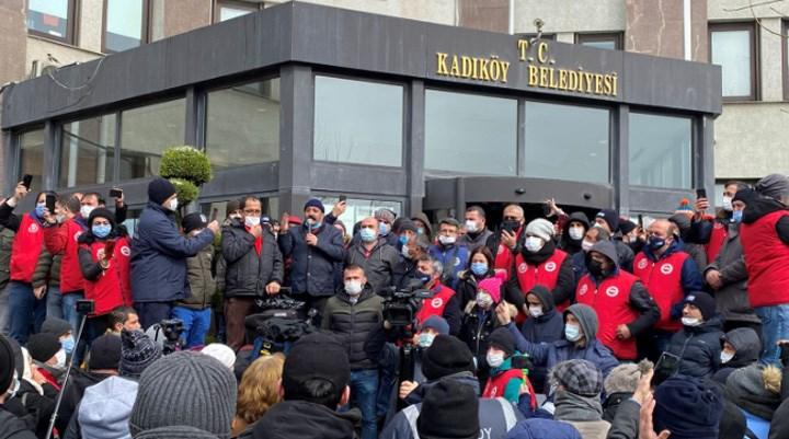 Kadıköy'de TİS imzalandı, işçiler tepki göstererek grevi sonlandırdı