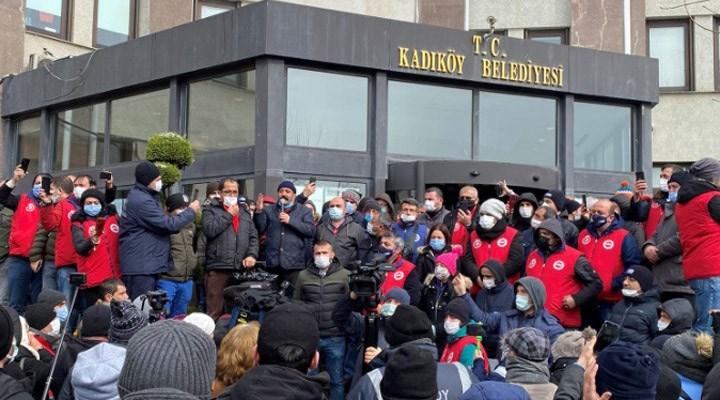 Genel-İş Sendikası'nda işçi temsilcisi kadınlardan 'Kadıköy Belediyesi grevi' açıklaması