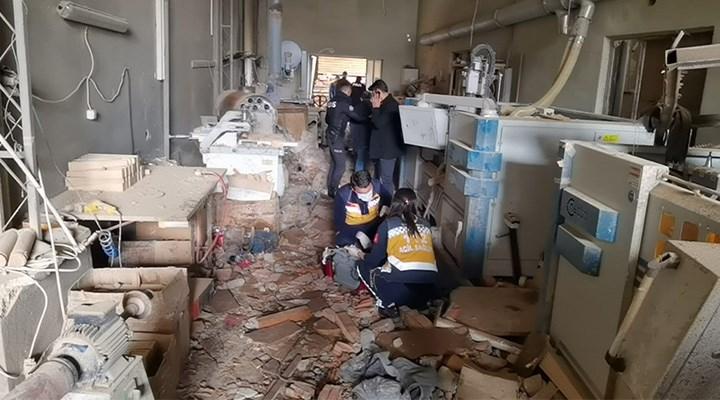 Fabrikada patlama: 1 işçi yaşamını yitirdi 4'ü ağır 6 yaralı