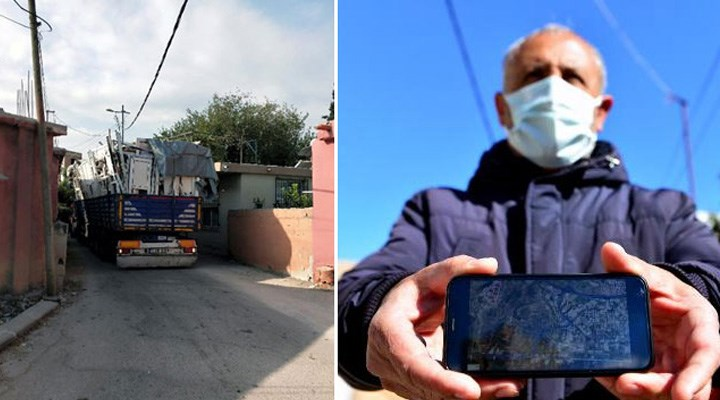 Adana'da navigasyon tepkisi: 'Araçlar evlerimize çarpıyor, canımız tehlikede'
