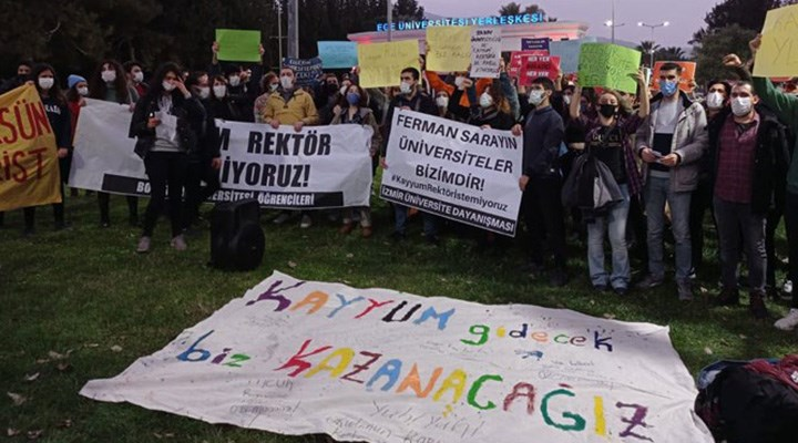 Dokuz Eylül Rektörlüğü, 35 öğrenciye ceza verdi