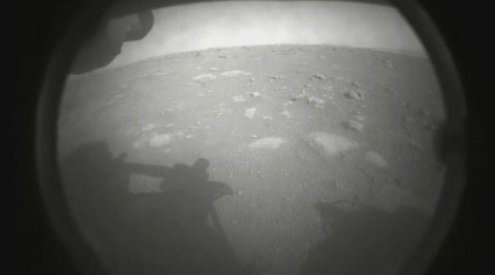 NASA, Perseverance'nin Mars'a iniş anına ait görüntüleri yayınladı
