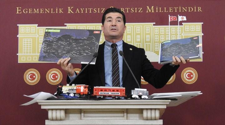 CHP'li Kaya: AKP iktidardan gitmeden Trabzon'a demiryolu gelmeyecek