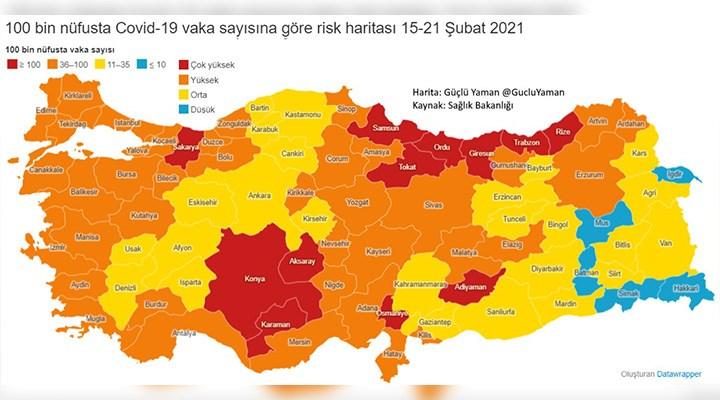 Lebaleb kongrelerin faturası: Gittikçe daha da büyüyen tehlikenin en net haritası