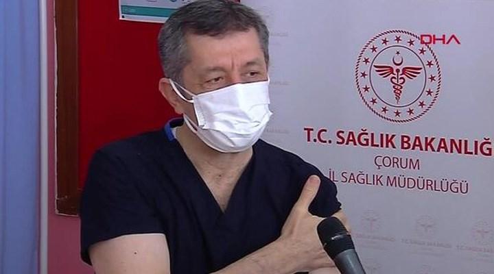 Öğretmenlere aşı uygulaması başladı: Milli Eğitim Bakanı, koronavirüs aşısı oldu
