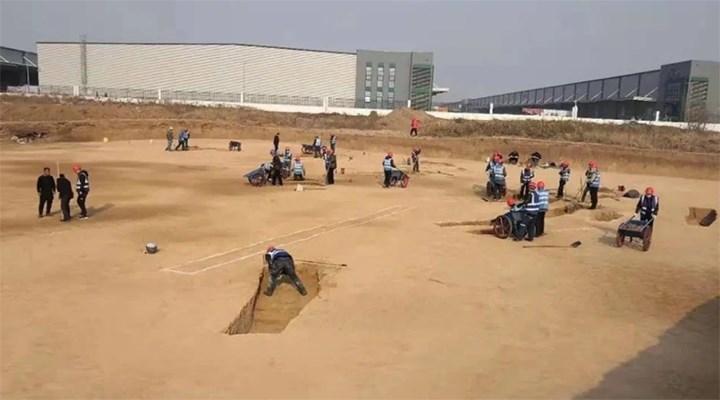 Çin'de 3 bin 500'den fazla antik mezar bulundu