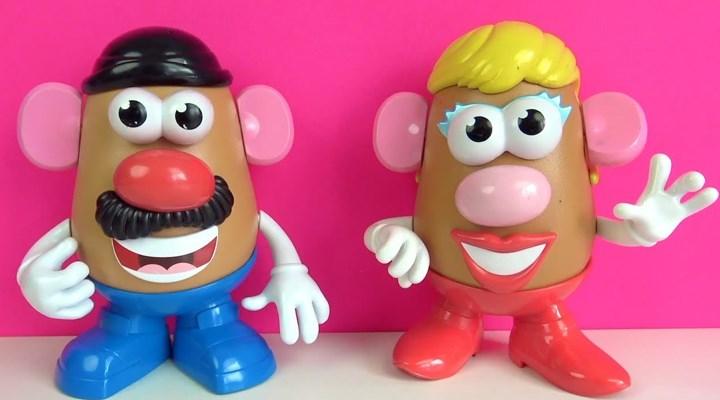 Patates Kafa oyuncaklarında 'Bay' ve 'Bayan' ifadeleri kaldırılıyor