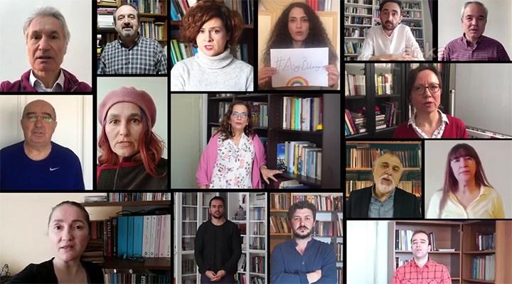Ankara Üniversitesi akademisyenlerinden Boğaziçi'ne destek