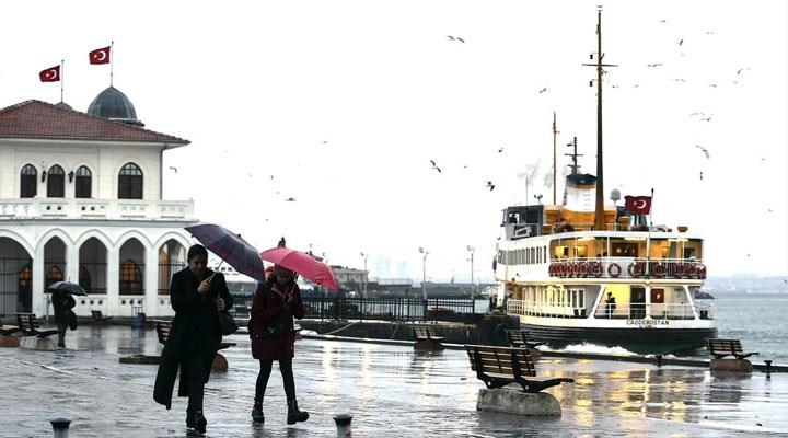 Meteoroloji saat verdi: İstanbul için yağış uyarısı