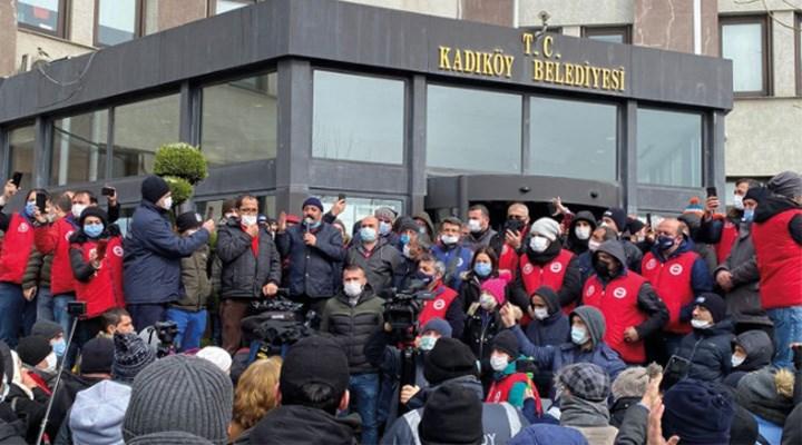 Belediye işçilerinin direnişi katılım rekoruyla tamamlandı