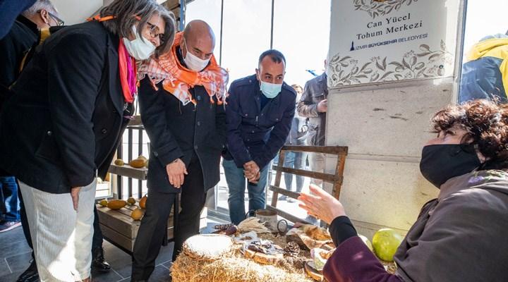 Can Yücel Tohum Merkezi'nin ikincisi İzmir'de açıldı