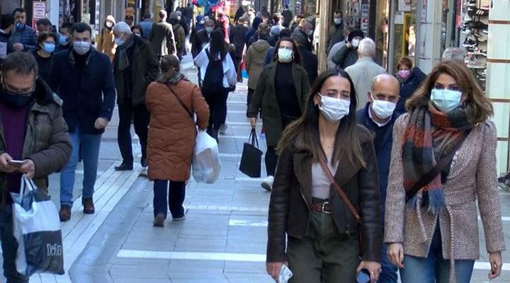 'Çok yüksek riskli' Trabzon sokaklarında yoğunluk