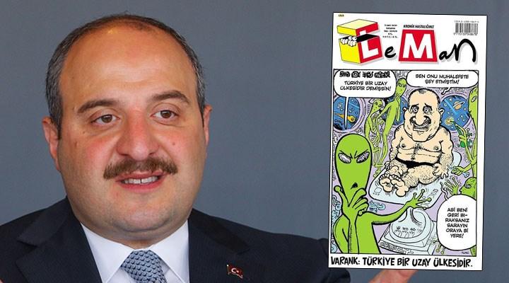 Karikatürde fizik kuralı arayan Bakan Varank, espri konusu oldu