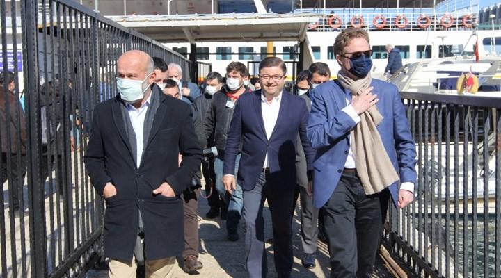 AB Büyükelçisi Meyer-Landrut, Adalar'ı ziyaret etti