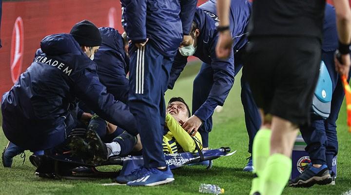 Mesut Özil'in ayak bileğinde kısmi yırtık ve ödem tespit edildi