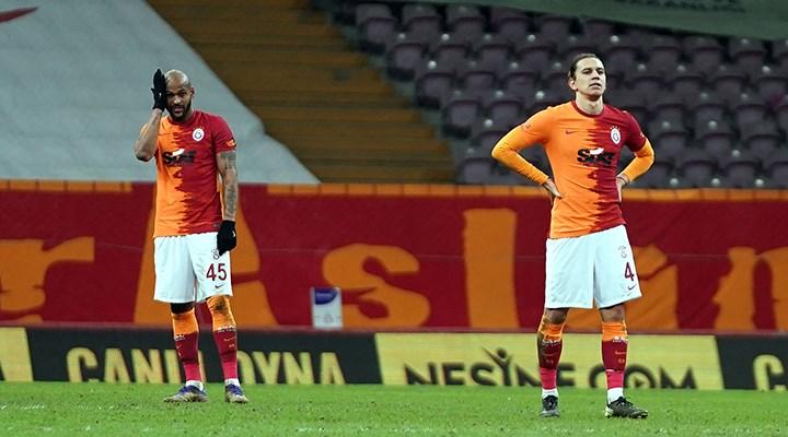 Galatasaray'ın evindeki galibiyet serisi bitti