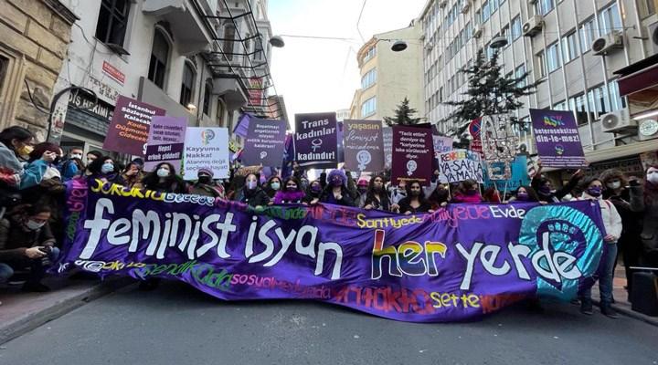 Kadınlar 8 Mart'ta alanlarda: Patriyarkaya karşı eşit ve özgür bir ülke istiyoruz!