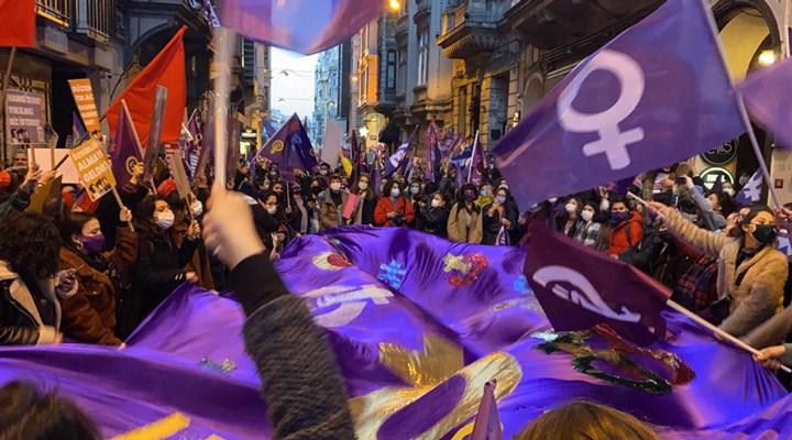 Fotoğraflarla 19. Feminist Gece Yürüyüşü