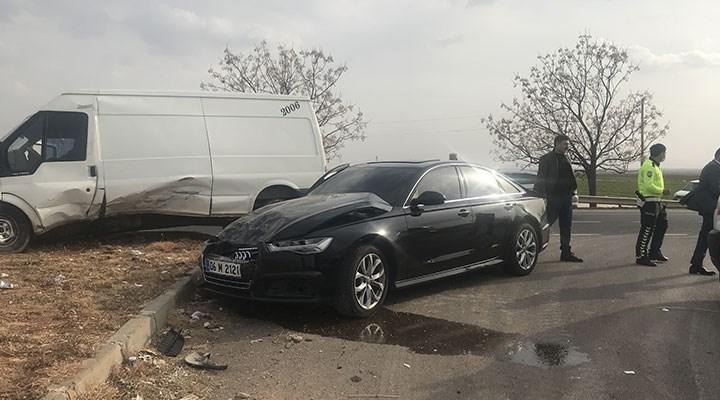 İYİ Parti konvoyunda trafik kazası: 4 yaralı