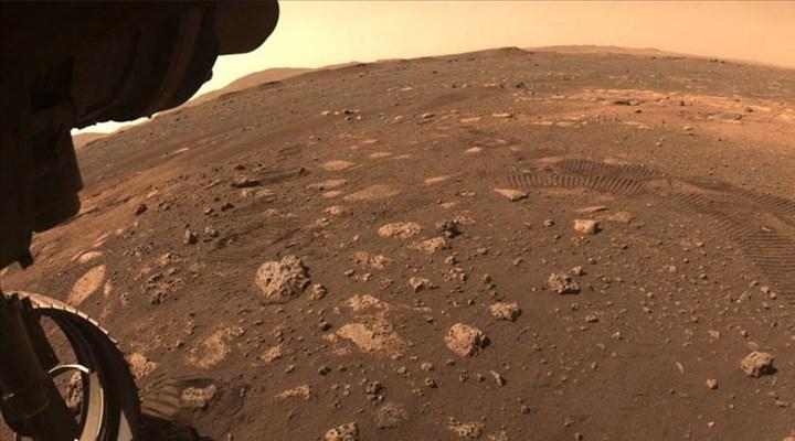 NASA paylaştı: Mars'tan gönderilen ilk ses kaydı