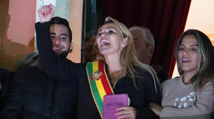 Bolivya'da darbeci Jeanine Anez gözaltına alındı