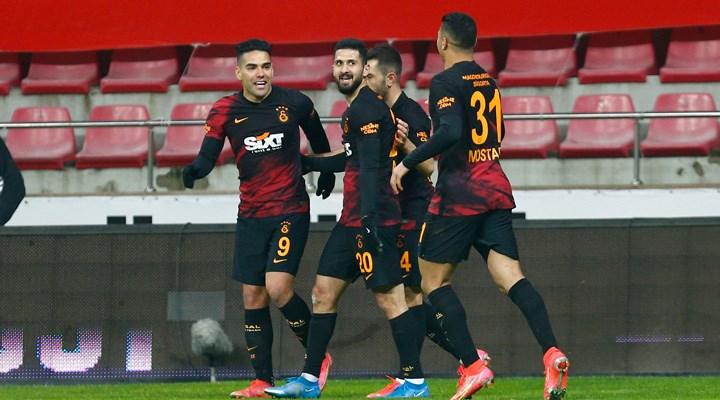 Galatasaray, 2 maç aradan sonra galip geldi