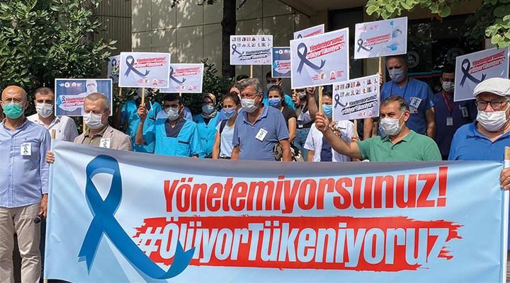 Sağlık çalışanlarının hakları ödenmez